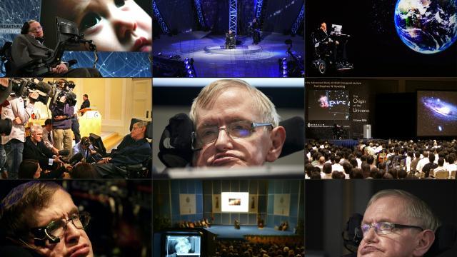 FALLECE GENIO BRITÁNICO…    Stephen Hawking:  Un hombre sin límites