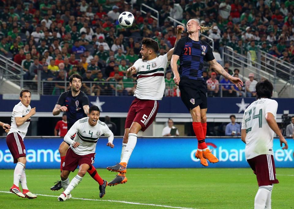Cae el Tri con Croacia y pierde  por lesión a Araujo y Salcedo
