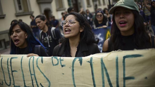OFRECE QUE SE REVISE LA CARPETA DE INVESTIGACIÓN…    No habrá carpetazo en el caso  de estudiantes: Aristóteles