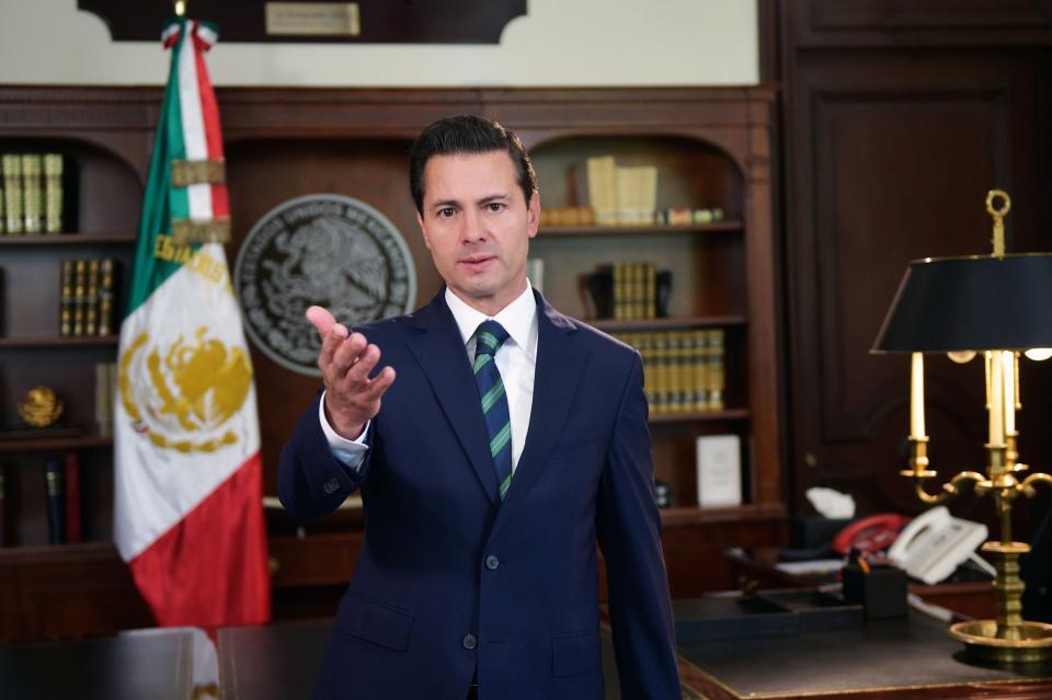 Nada ni nadie por encima de la  dignidad de México: Peña Nieto
