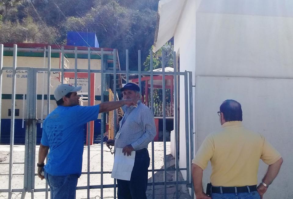 Supervisa INE las casillas  electorales del Distrito 05