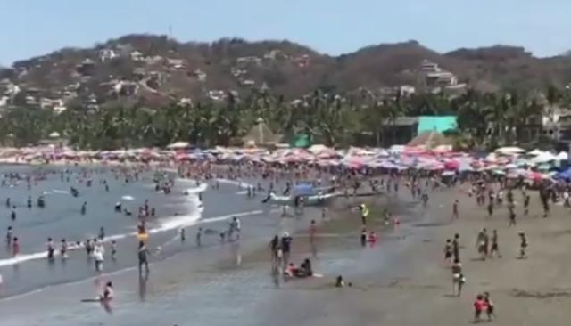 Saldo blanco en vacaciones  de Semana Santa en Bahía