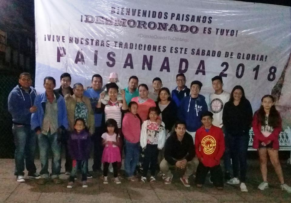 """Desde El Desmoronado, cientos  se unen a """"La Paisanada"""""""