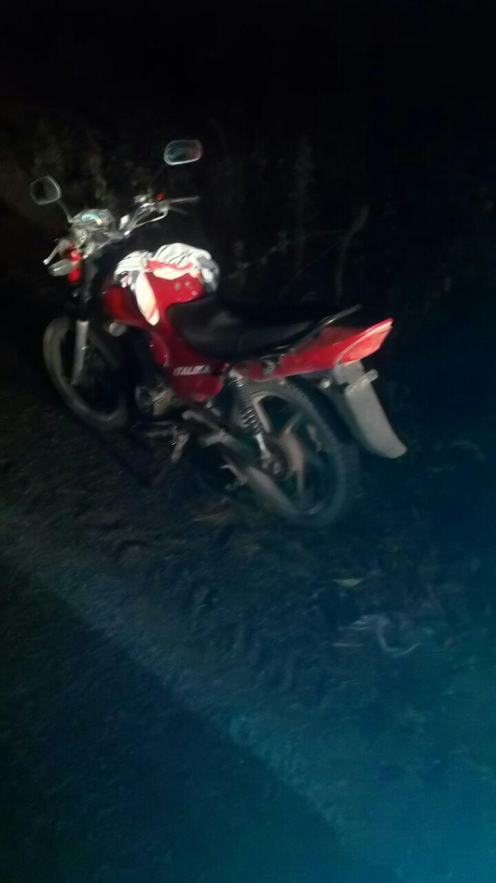 Motociclista Atropellado  sobre la Carretera 544