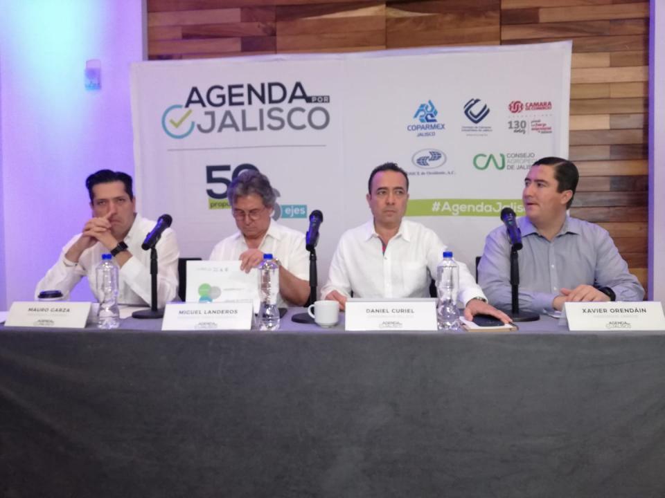 Presentan empresarios segunda  fase de la Agenda por Jalisco