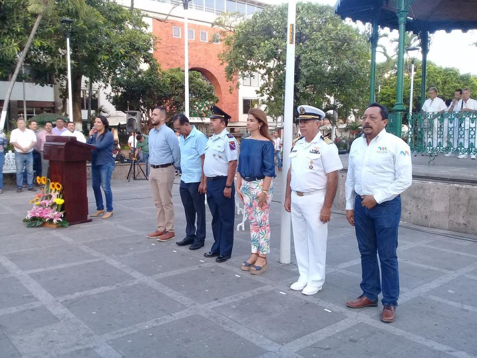 Recuerdan a don Venustiano  Carranza en Puerto Vallarta