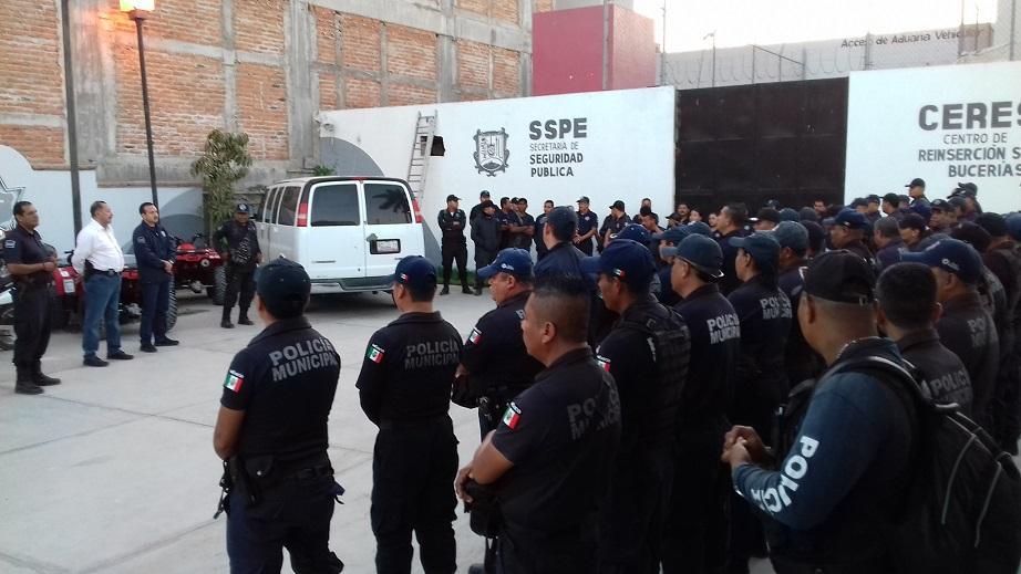 Logran policías en Bahía  más y mejores prestaciones