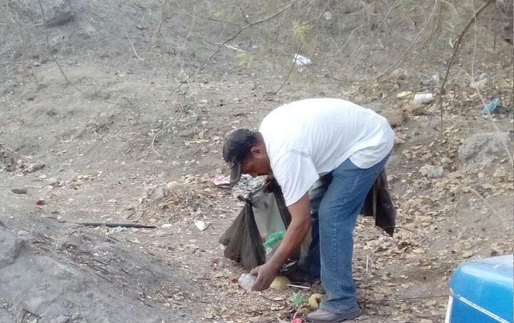 En marcha campaña de recolección  de basura para una mejor imagen