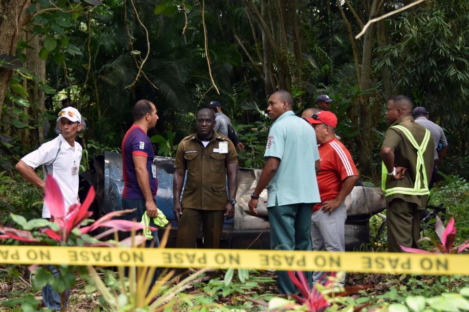 Cae avión mexicano  en Cuba; mueren 108