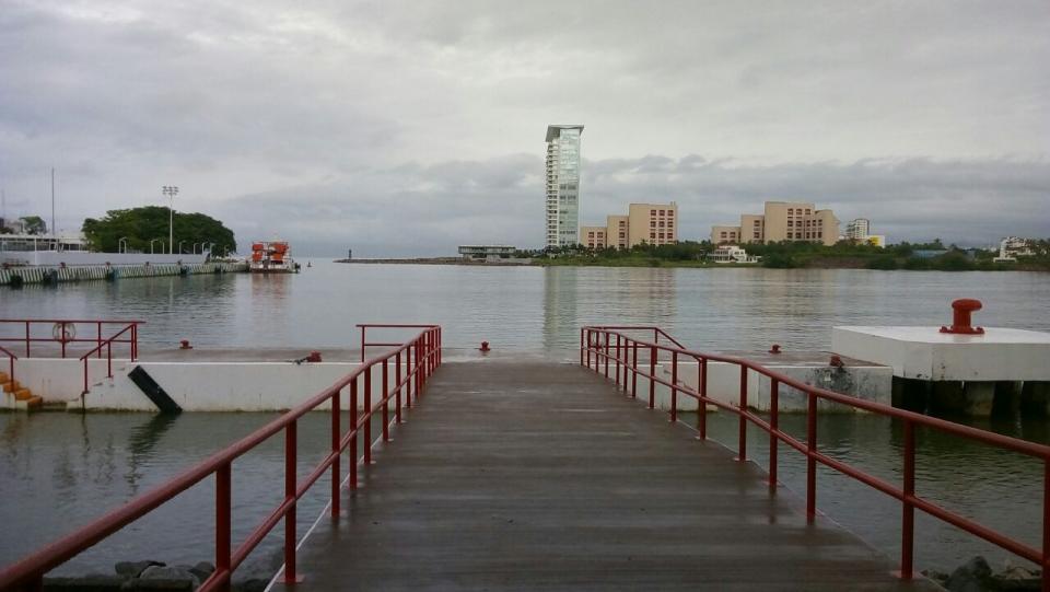 Reforzarán seguridad de pasajeros ante lluvias: Capitanía de Puerto