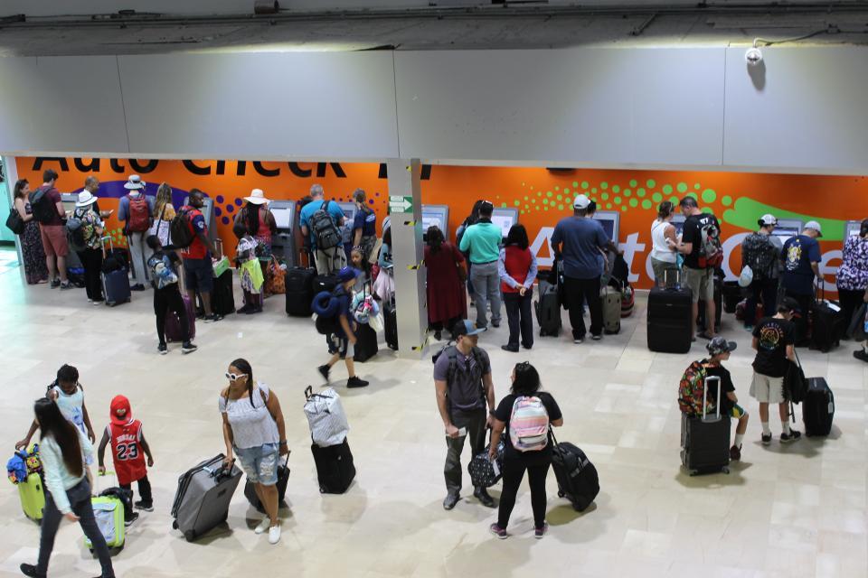 En crecimiento el tráfico de pasajeros del Aeropuerto Internacional de PV