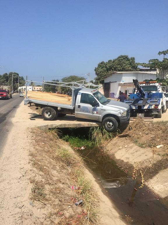 Vehículo de FIBBA, involucrado en accidente de Bucerías