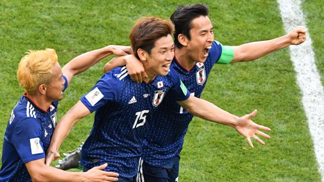 La sorpresa de la jornada:  Japón derrota a Colombia
