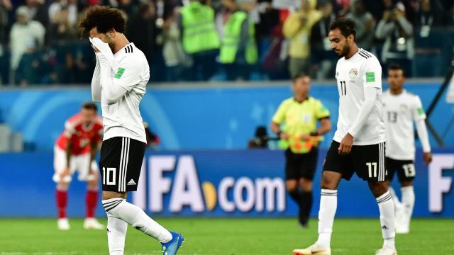 """Rusia continúa en plan grande  y vence a Egipto con """"Mo"""" Salah"""