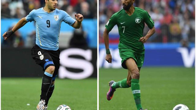 Uruguay va por su boleto a  octavos ante Arabia Saudita