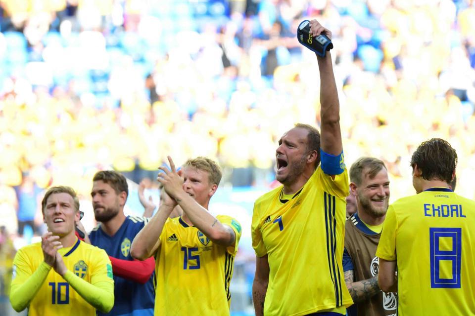 Técnico de Suecia  contento por triunfo
