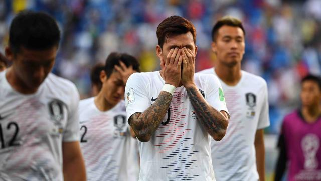 Corea sufre por derrota con Suecia,  pero ya piensa en México