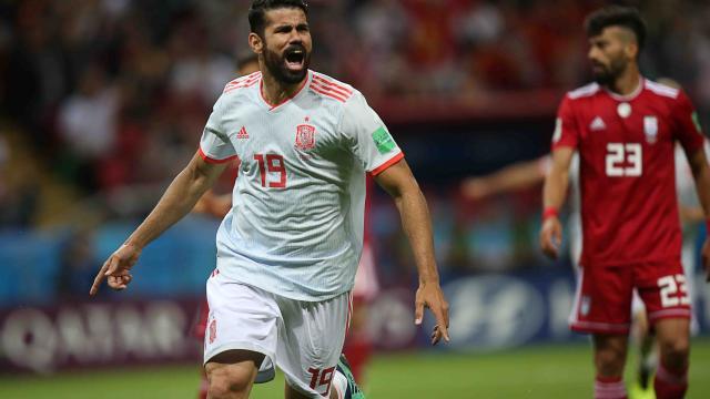 Sufre España al  ganar 1-0 a Irán
