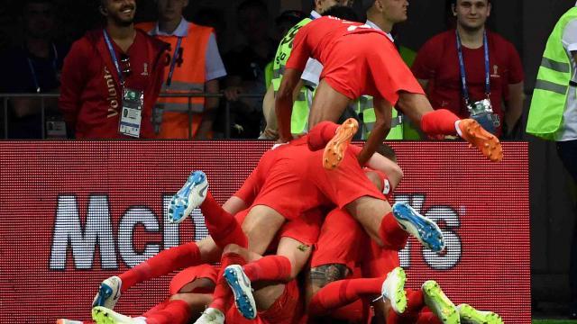 Harry Kane salva a Inglaterra con gol  de último minuto frente a Túnez