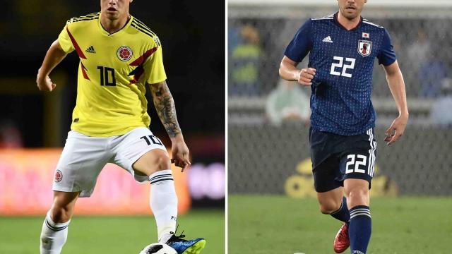 Colombia y Japón abren  hostilidades de Grupo H