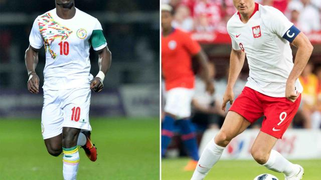 Polonia busca tres primeros  puntos ante un Senegal fuerte