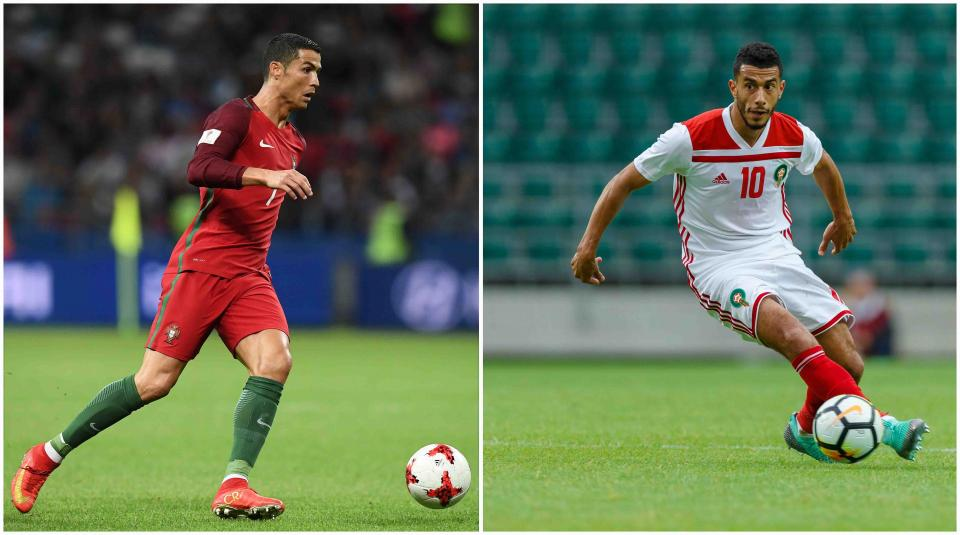Un favorito Portugal enfrenta a un  Marruecos que va por otra sorpresa