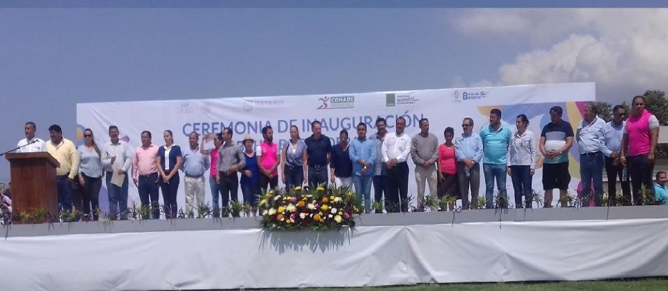 Realizan ceremonia oficial de  juegos deportivos nacionales