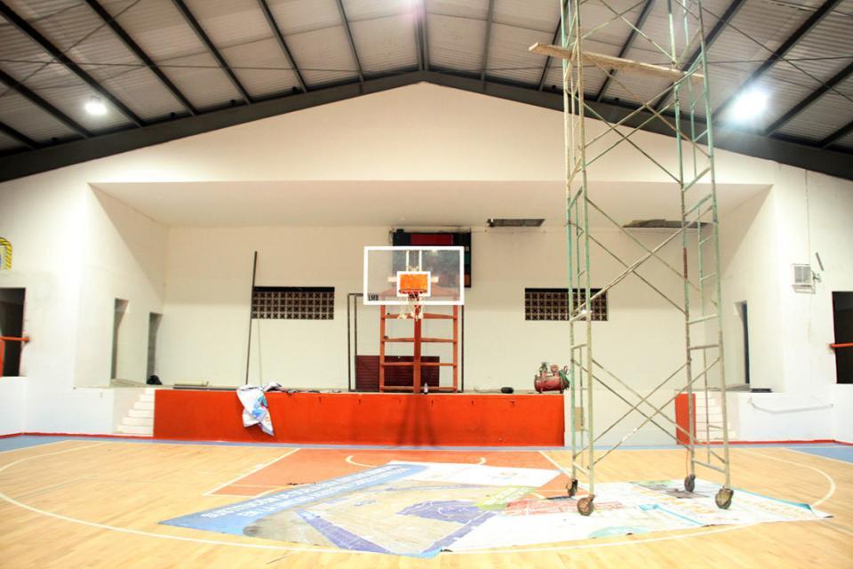 Avanza renovación total  del Auditorio Municipal