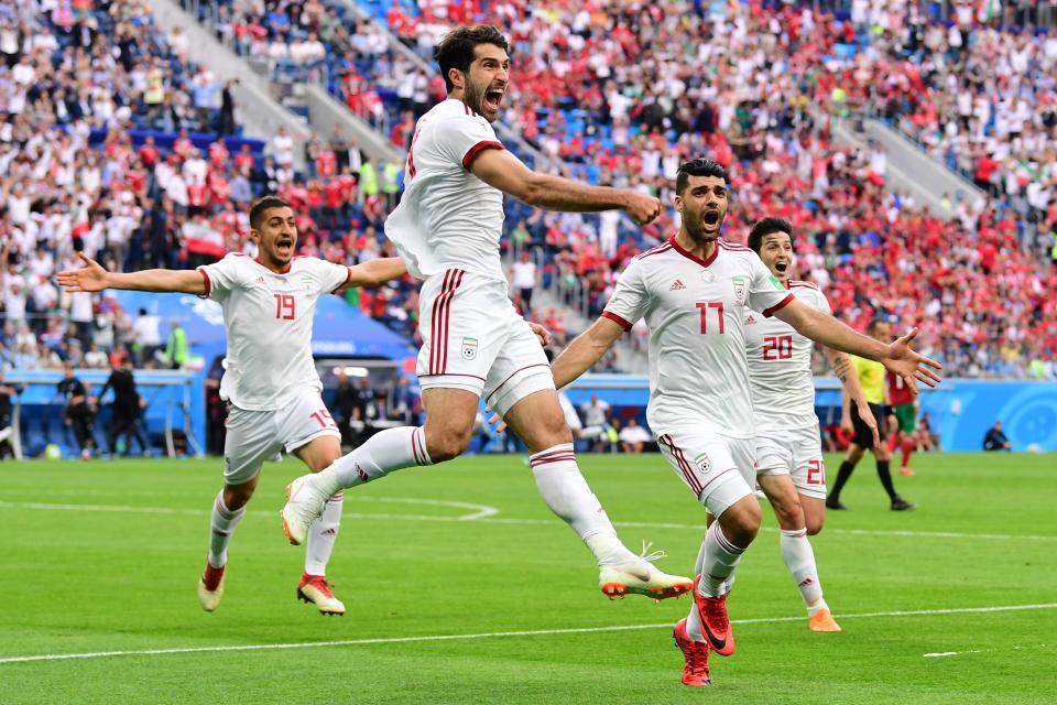 Con autogol, Irán  gana a Marruecos