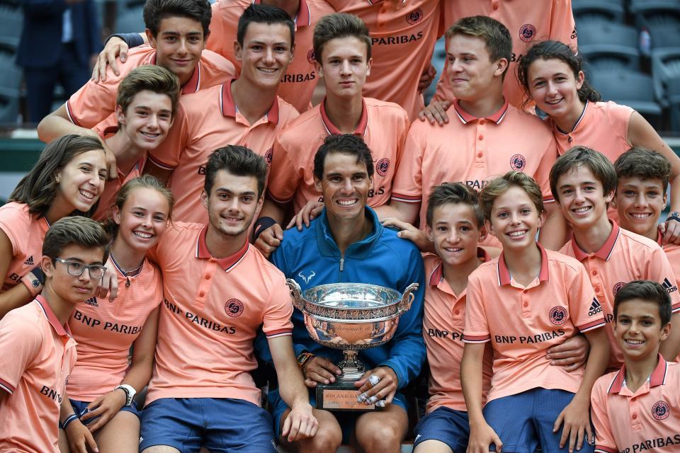 Nadal se puso su undécima  corona de Roland Garros