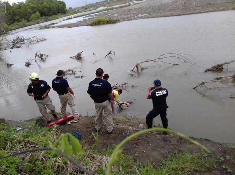 Encuentran cuerpo flotando en  el río; lo rondaba un cocodrilo
