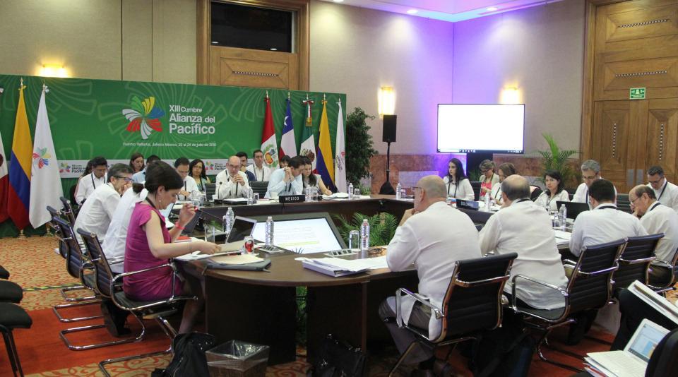 Inicia actividades Consejo de  Ministros de Alianza del Pacífico