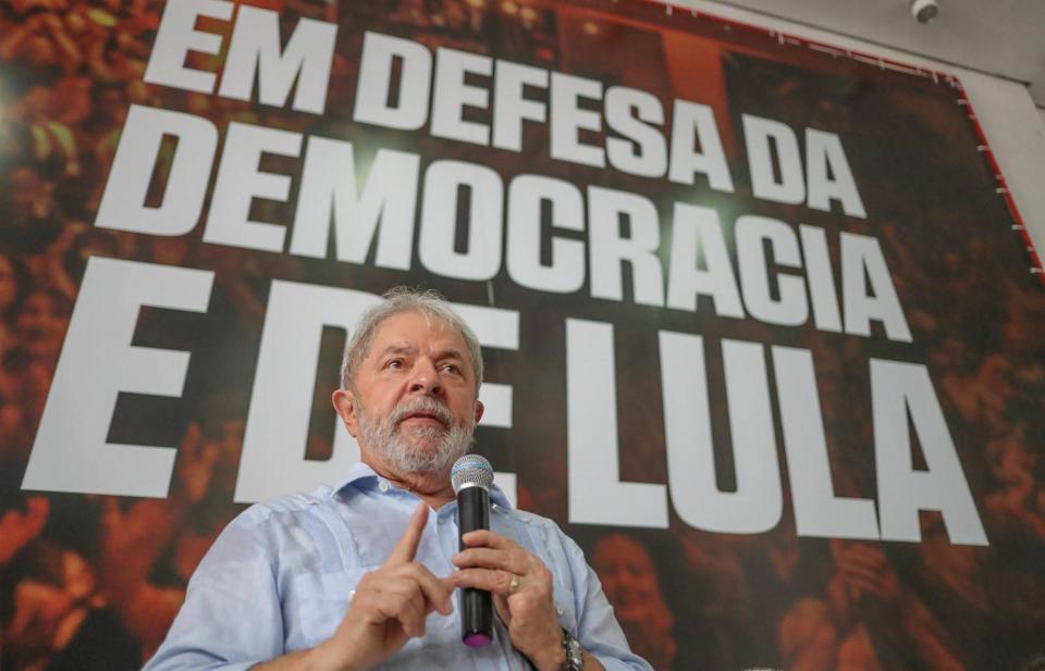 """Desde la cárcel, Lula le desea  """"buena suerte"""" a López Obrador"""
