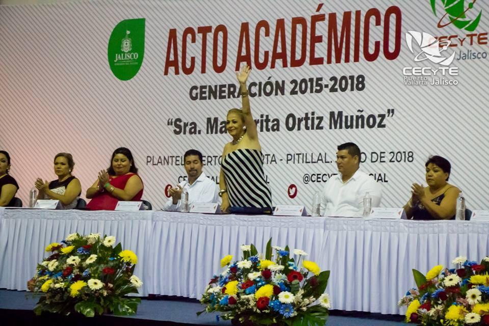 MAGO ORTIZ, MADRINA DE LUJO…    Emotiva graduación para 435 egresados del CECyTEJ PV