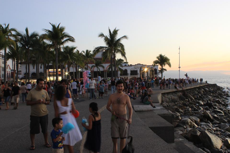 Repunta la ocupación hotelera en  Puerto Vallarta por vacaciones