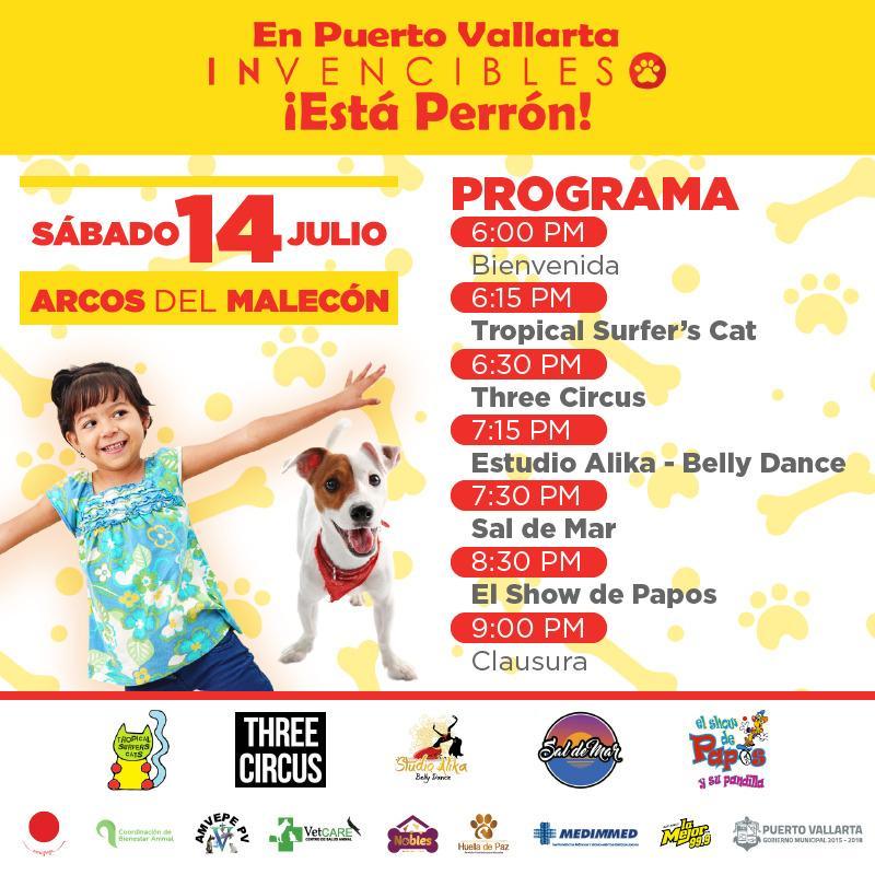 Invitan a apoyar a niños con cáncer  y animalitos de Puerto Vallarta