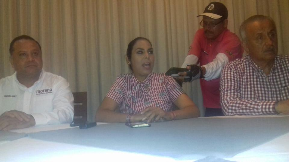 Mirtha Villalvazo virtual ganadora  de la diputación federal en Bahía