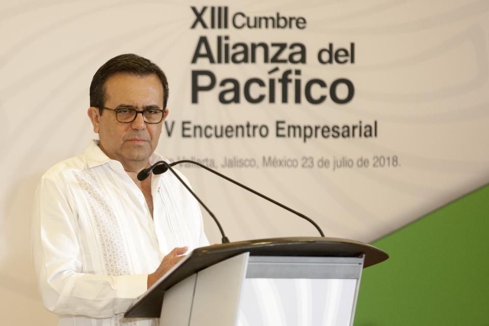 Secretario de Economía llama  a hacer frente al proteccionismo