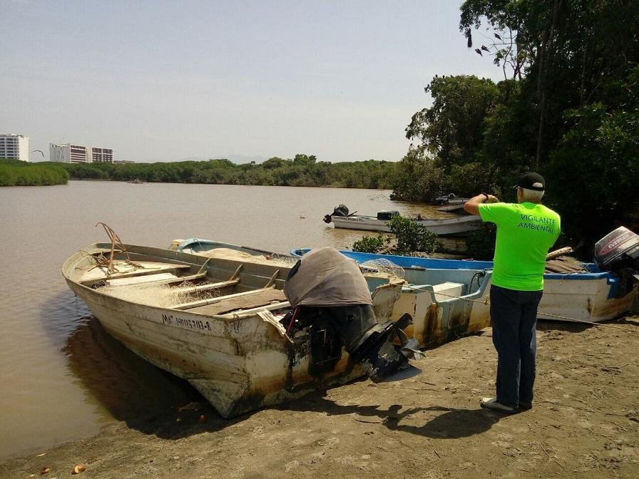 Atienden Profepa Jalisco, reporte de  tortuga destazada, en el río Ameca