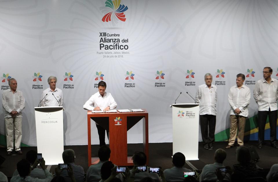 Alianza del Pacífico y Mercosur  van por zona libre de aranceles