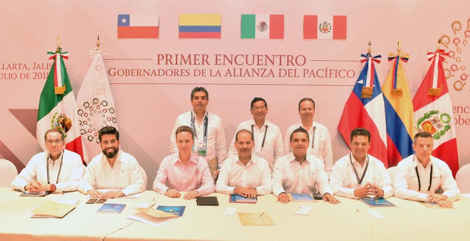 Gobernadores se suman con  proyectos a la Alianza del Pacífico