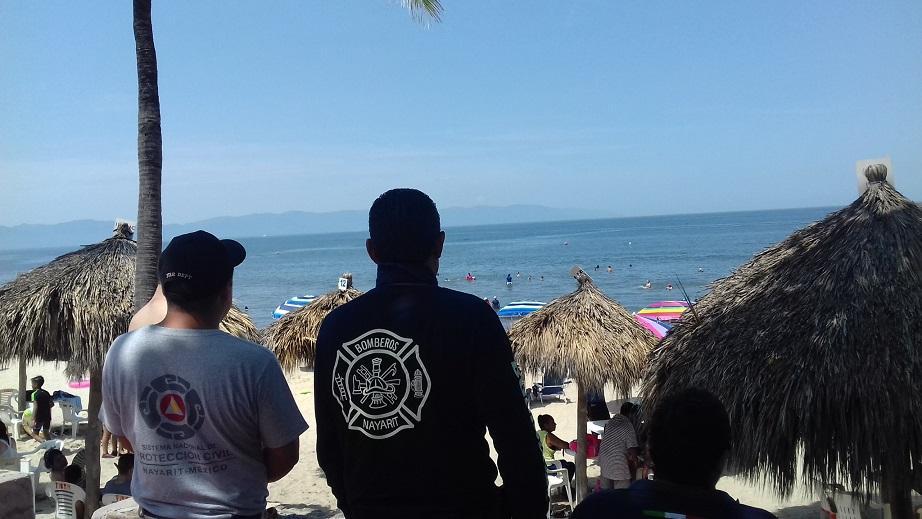 Realiza Protección Civil rescate  de turista en San Pancho