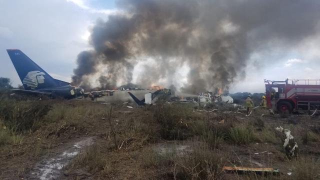Accidente de avión de pasajeros en norte de México no deja muertos