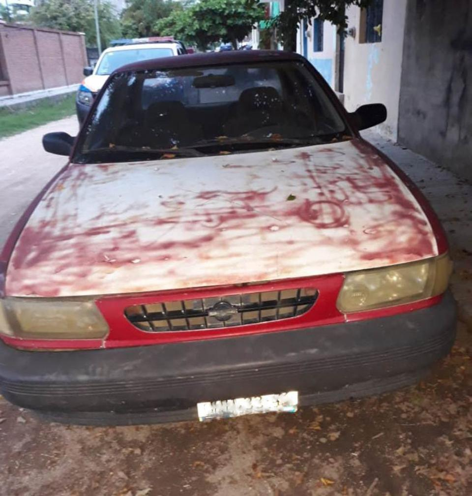 Recuperan Policías vehículo  con reporte de robo