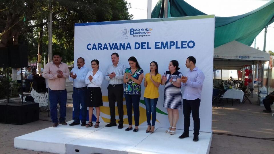 Más de 500 empleos se ofertan en la Caravana del Empleo en Bahía de Banderas
