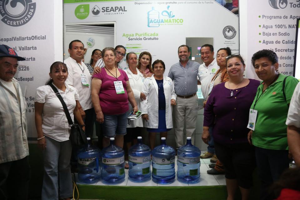 Aguamáticos tienen cobertura en 33 colonias de Puerto Vallarta