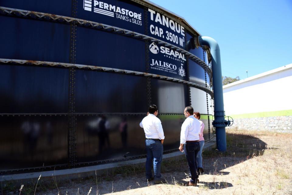 Durante el año 2017 Produjo Seapal Vallarta 1,117 litros de agua potable cada segundo