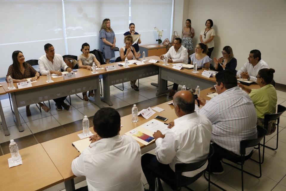 Presentan convenio para el Centro de Justicia para las Mujeres