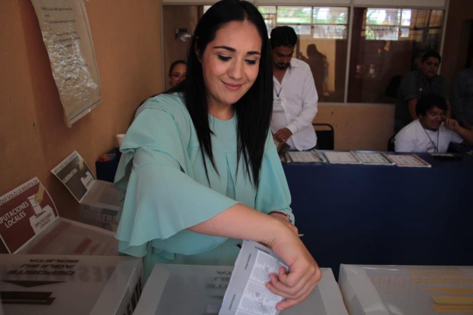 Confía Teresita Marmolejo en que el voto ciudadano la favorezca