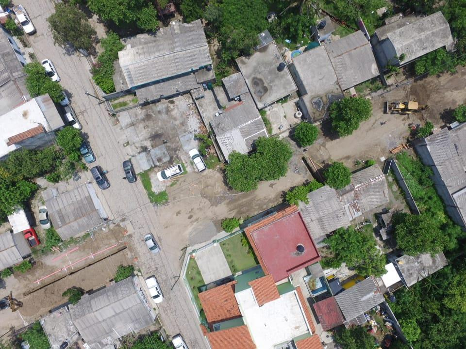 Supervisa Jaime Cuevas nuevo Subcolector y Red de Drenaje para San Vicente